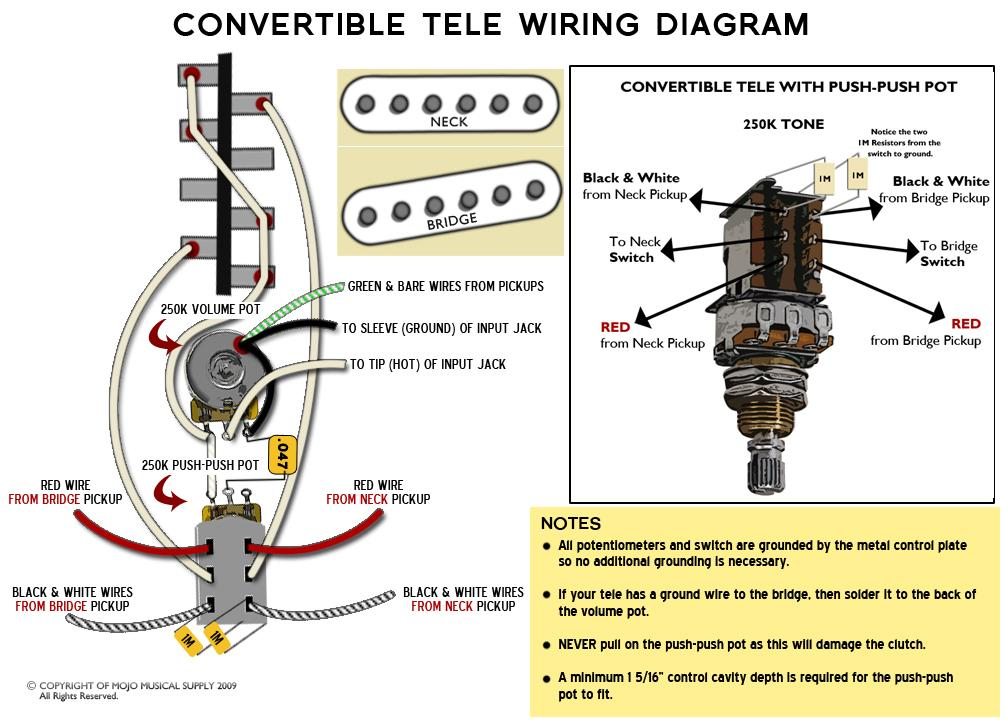 Fender american special telecaster wiring diagram