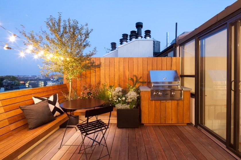 Terasa na krovu by NoHo