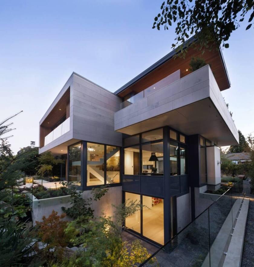 Rezidencija Chancellor by Frits de Vries Architect