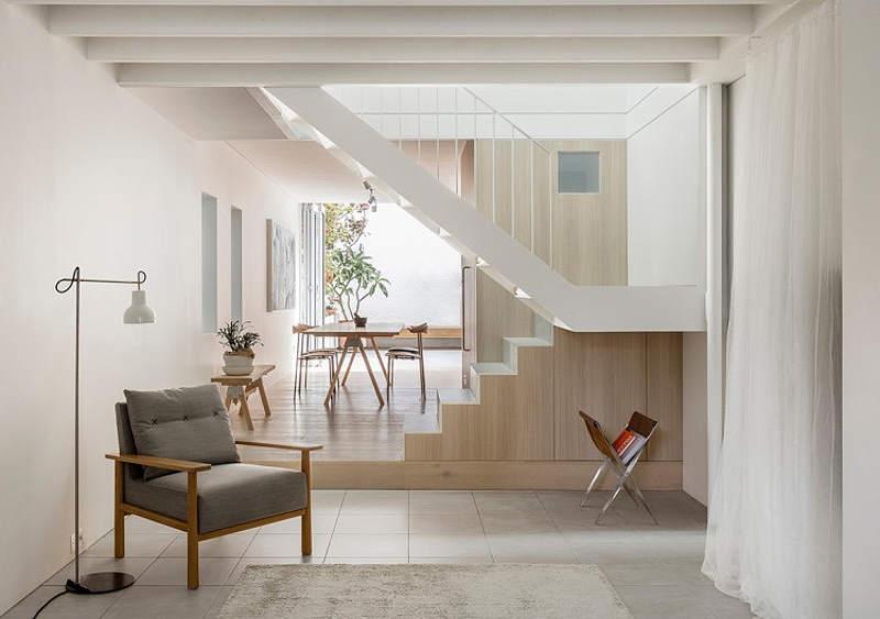 Drvene stepenice na moderan i kreativa način