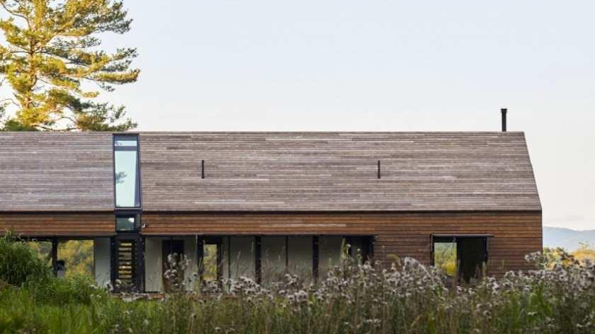 Fenomenalna kuća povrh doline velike rijeke