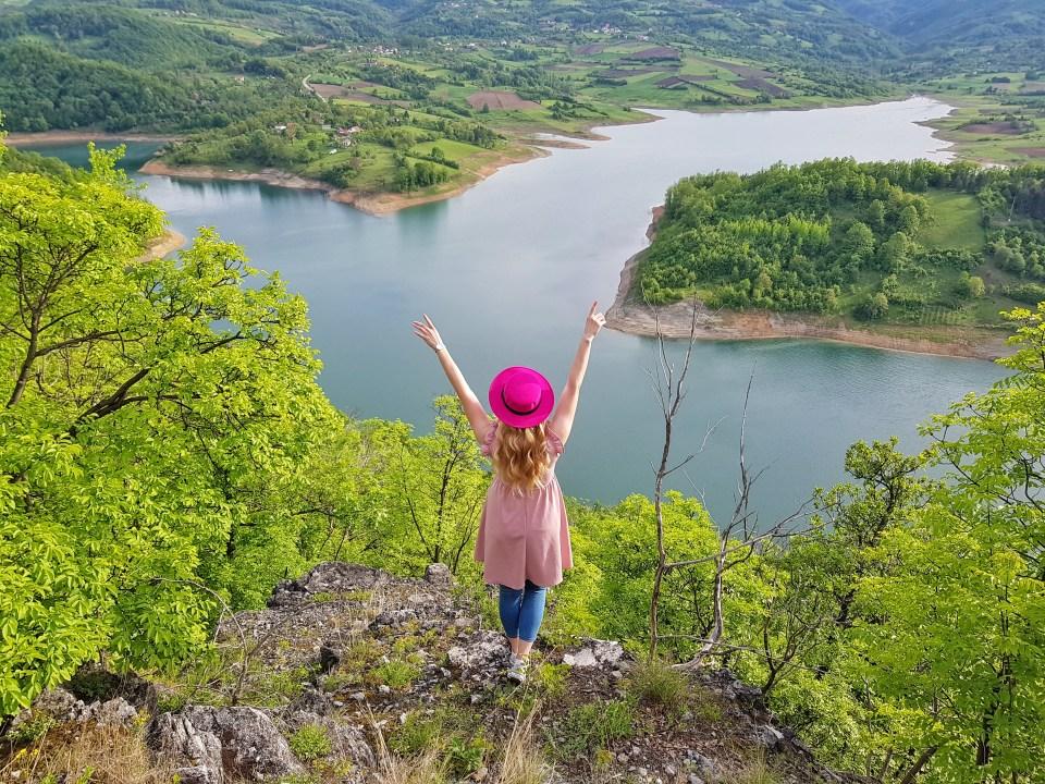 Pogled na jezero Rovni