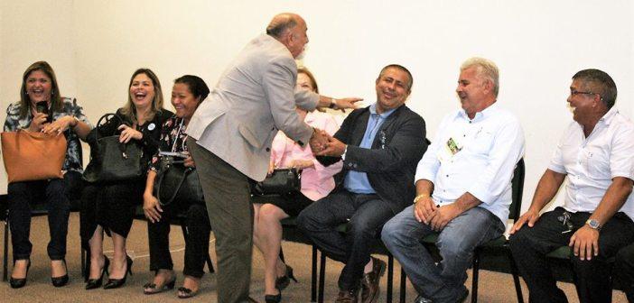 """No segundo dia do """"PARÁ SUSTENTÁVEL"""" Prefeito IE IÉ tem reunião com Governador Simão Jatene e Prefeitos do Estado"""