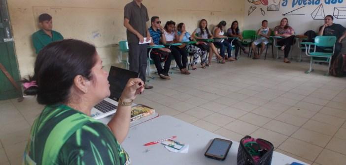 Semed realiza formação para professores do Sistema Modular