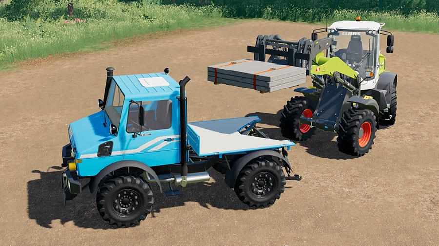 Unimog U1200, U1400 & U1600