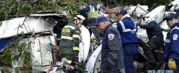 بالصور : شاهد المعجزة وراء نجاة 5 من ركاب الطائرة البوليفية المحطمة