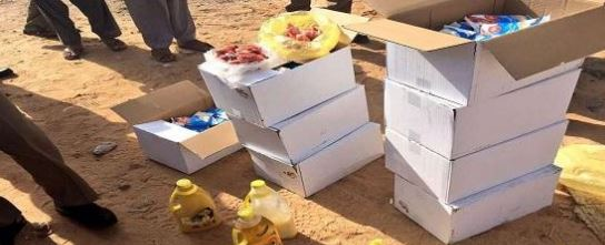 بالصور.. ضبط كمية أغذية منتهية الصلاحية في سكن عمال بالدوادمي