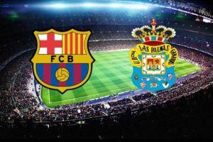 ملخص أهداف مباراة برشلونة ولاس بالماس 5_0 في الجولة 18 من الدوري الاسباني اليوم السبت 14_1_2017