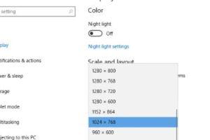 كيفية تصغير شاشة الكمبيوتر في ويندوز 10