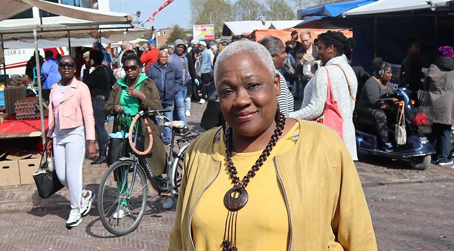 Amsterdam-Zuidoost volgens Jetty Mathurin