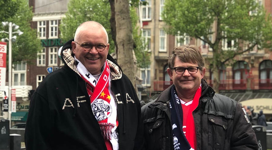 'Je bent gek als je zegt dat Ajax niet wint!'