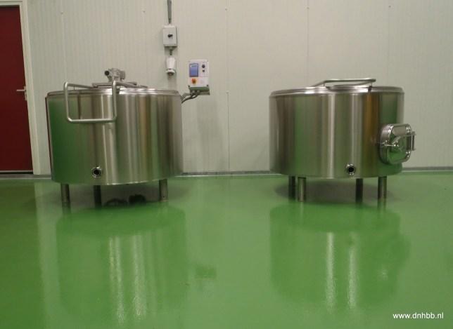 Bier brouwen bij de Noord-Hollandse Bierbrouwerij