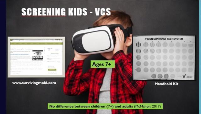 Screening CIRS in Children using VCS