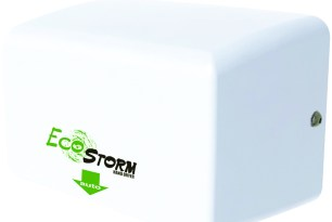 Secamanos óptico de acero inoxidable blanco a ultra-alta velocidad EcoStorm #HD094117
