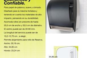 Dispensador de papel secamanos palanca, modelo 220