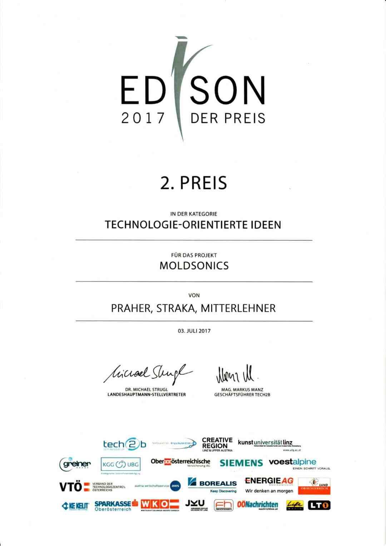 Urkunde Edison 2017 Alle scaled Moldsonics edison