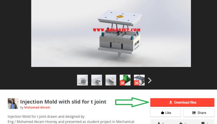 Chia sẽ kho file 3D khuôn mẫu trực tuyến