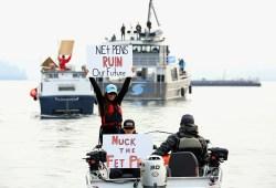 Washington invoice banning Atlantic salmon farming