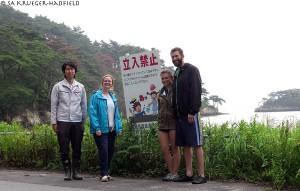 Endo-San, Jacqui, me and Rob