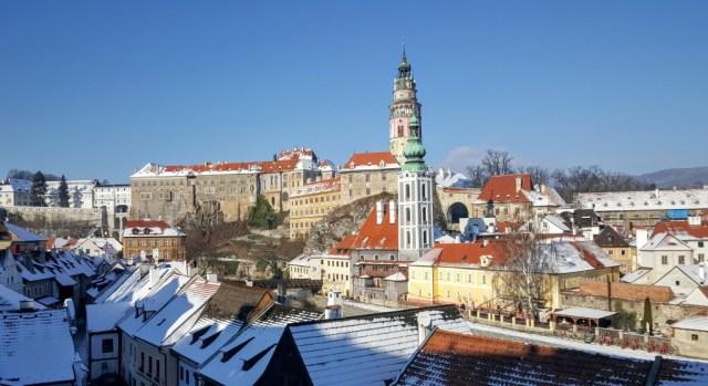 View over Český Krumlov