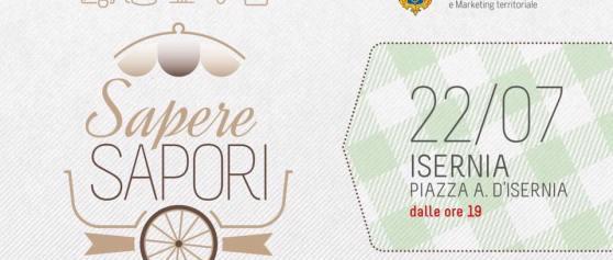 """""""Sapere Sapori"""": il 22 luglio tornano in piazza a Isernia prodotti e territori del Molise"""