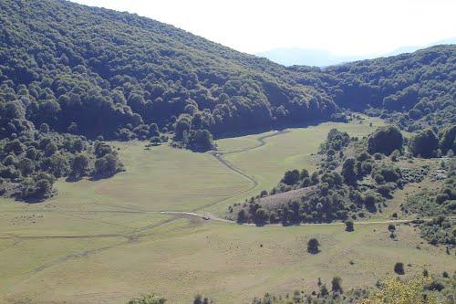 Il Lago di Civitanova anno 2012 senza acqua