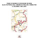 Piano di assestamento forestale del Comune di Forli del Sannio