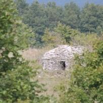 """il ricovero in pietra in vicinanza del """"secondo"""" faggio"""