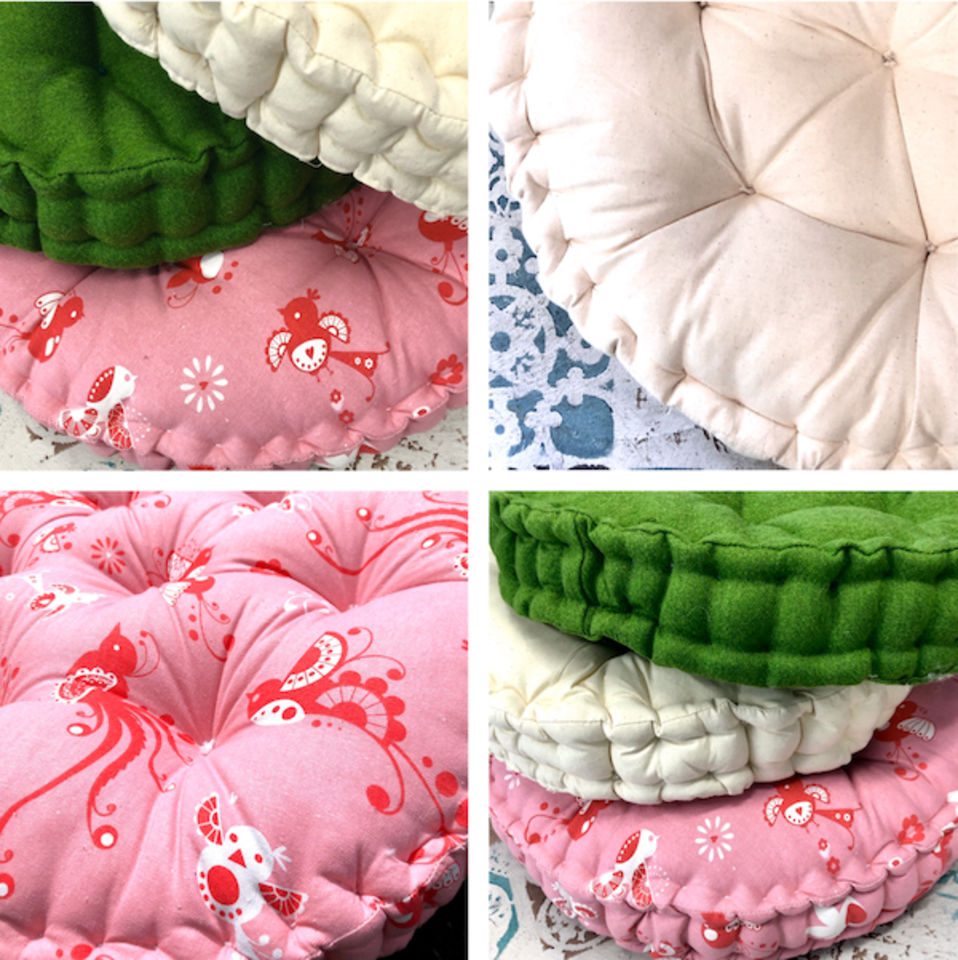 akld french tufting floor cushions