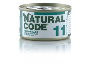 Natural Code 11 Tonno e Aloe• 0,85g