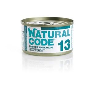 Natural Code 13 Tonno e Formaggio• 0,85g