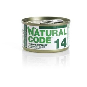 Natural Code 14 Tonno e Verdure• 0,85g