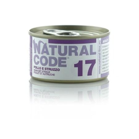 Natural Code 17 Pollo e Struzzo• 0,85g