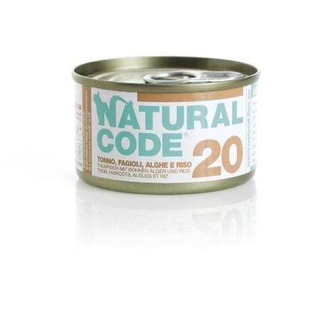 Natural Code 20 Tonno, Fagiolini e Alghe• 0,85g