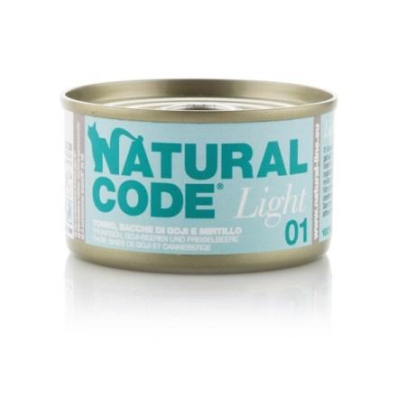 Natural Code Light 01 Tonno, Bacche di Goji e Mirtilli• 0,85g