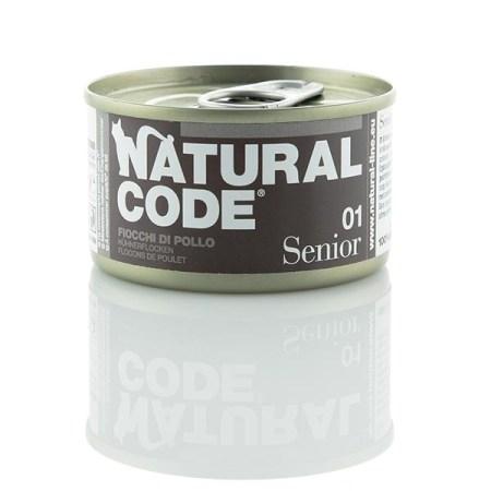 Natural Code Senior 01 Fiocchi di Pollo• 0,85g
