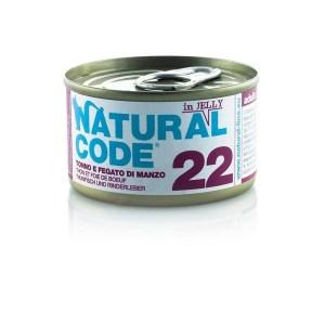 Natural Code 22 Tonno Fegato di Manzo• 0,85g