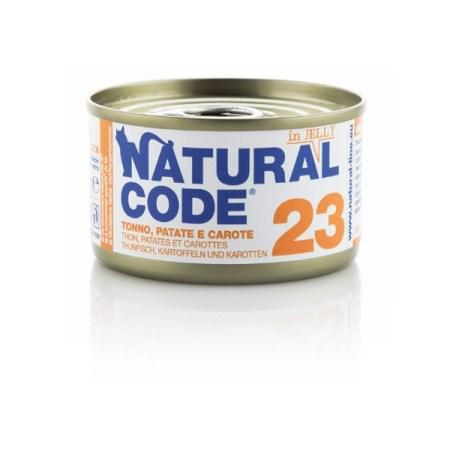 Natural Code 23 Tonno Patate e Carote• 0,85g