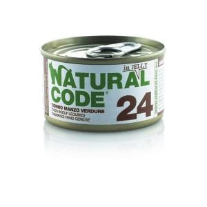 Natural Code 24 Tonno Manzo e Verdure• 0,85g