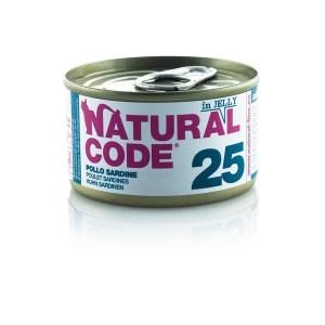 Natural Code 25 Pollo e Sardine• 0,85g