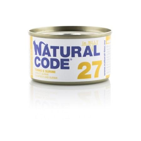 Natural Code 27 Tonno e Surimi• 0,85g