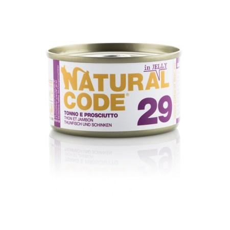 Natural Code 29 Tonno e Prosciutto• 0,85g
