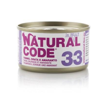 Natural Code 33 Tonno, Orata e Amaranto• 0,85g