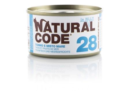 Natural Code 28 Tonno e Misto Mare• 0,85g