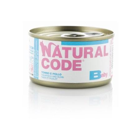 Natural Code Kitten Baby Tonno e Pollo• 0,85g