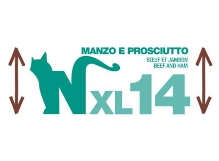 Natural Code XL14 Manzo e Prosciuto• 170g