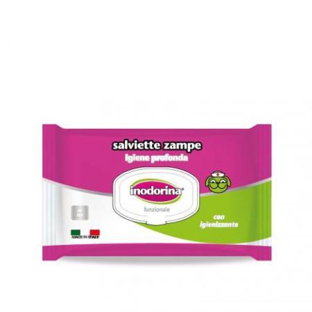 Inodorina • Funzionale 40 salviette • Specifica per Zampe