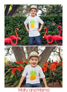 Introducing 'Percy the Pineapple' Appliqué Pattern