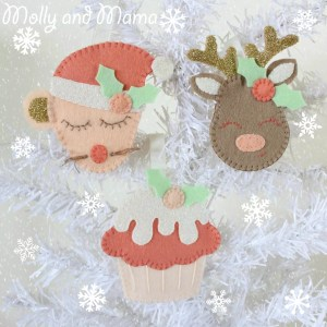Introducing the 'Festive Felties' Pattern for One Thimble