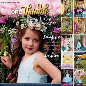 Introducing One Thimble Issue 12 and two Molly and Mama patterns